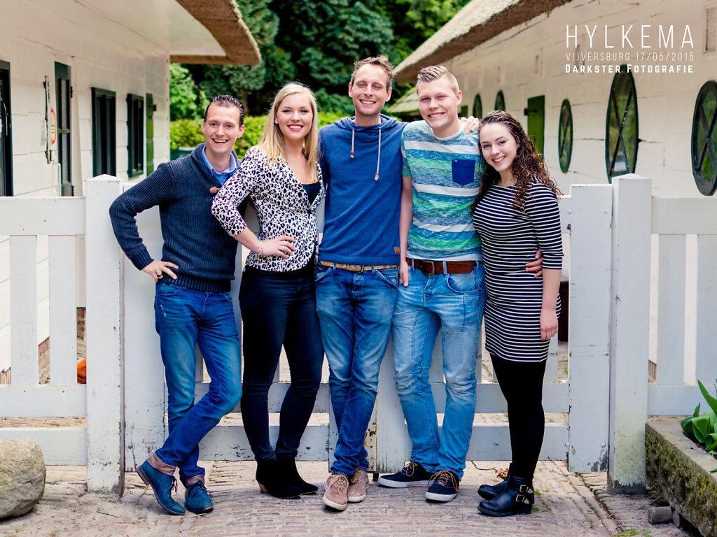 Familie Hylkema @ Vijversburg